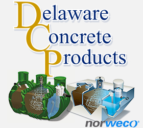 Delaware Concrete Products logo